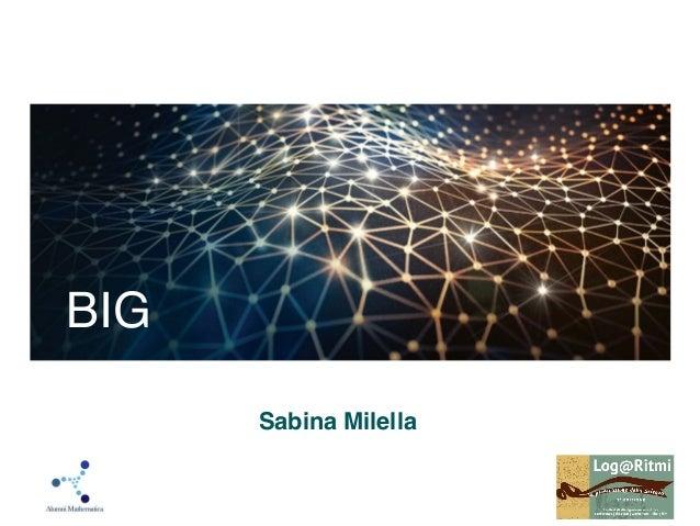 Sabina Milella BIG