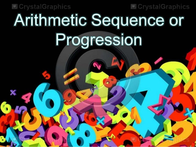 Sequence  • Is a set of numbers that is arranged in  a definite order, each number is  called Term.  Example:  1, 2, 3, 4,...