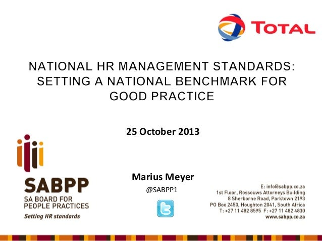 25 October 2013  Marius Meyer @SABPP1