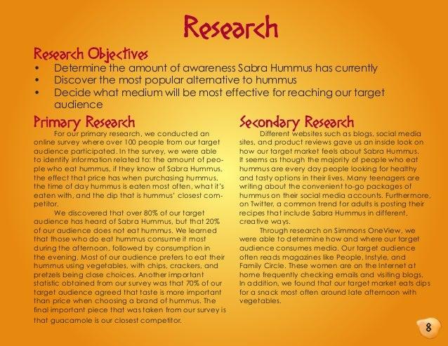 Advertising: Sabra Hummus