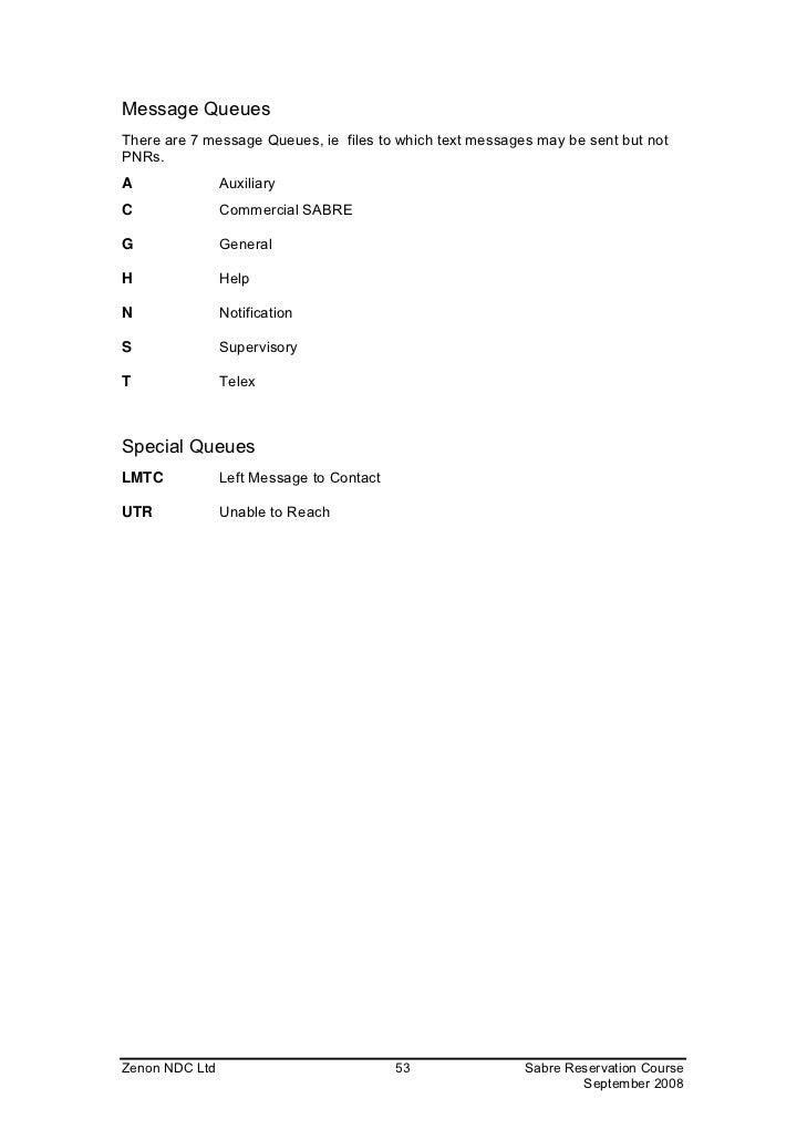 sabre reservation manual rh slideshare net Sabre Company