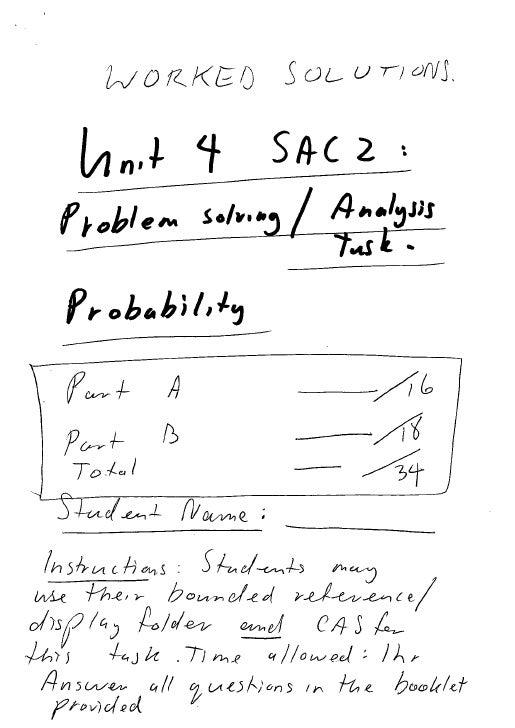 SAC 2 Worked Solutions