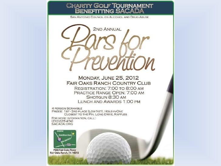 SACADA Pars for Prevention 2012