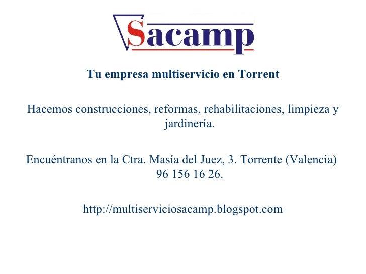 Empresa de limpieza en torrente sacamp for Empresas de limpieza en castellon