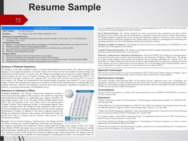 typist resumes