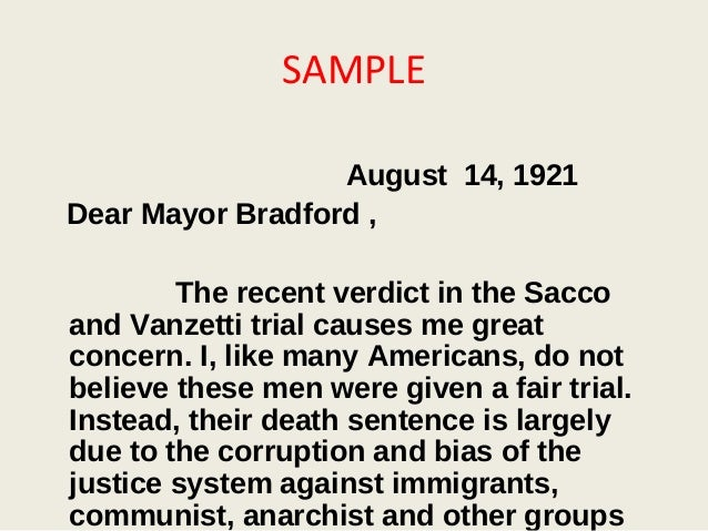 an overview of the murder case of sacco and vanzetti He described the case of nicola sacco and bartolomeo vanzetti, italian immigrants and self-declared anarchists who were convicted of murder and robbery on april 15, 1920  sacco-vanzetti murder .