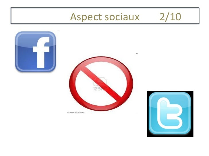 Aspect sociaux 2/10