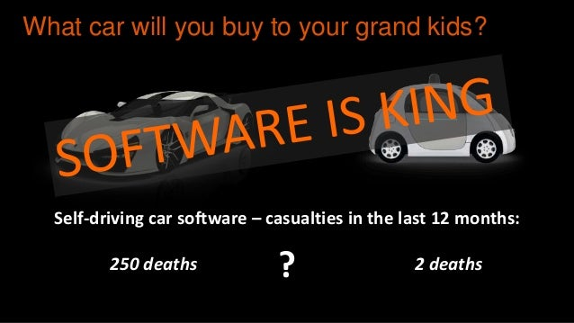 software is eating the world the automotive industry