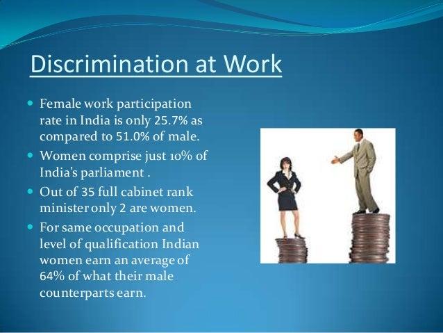 powerpoint presentation on gender discrimination