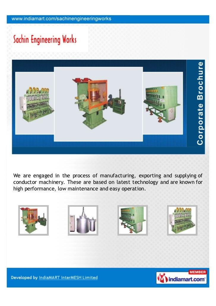 Manufacturer In Nagpur: Sachin Engineering Works, Nagpur, Wire Drawing Machines