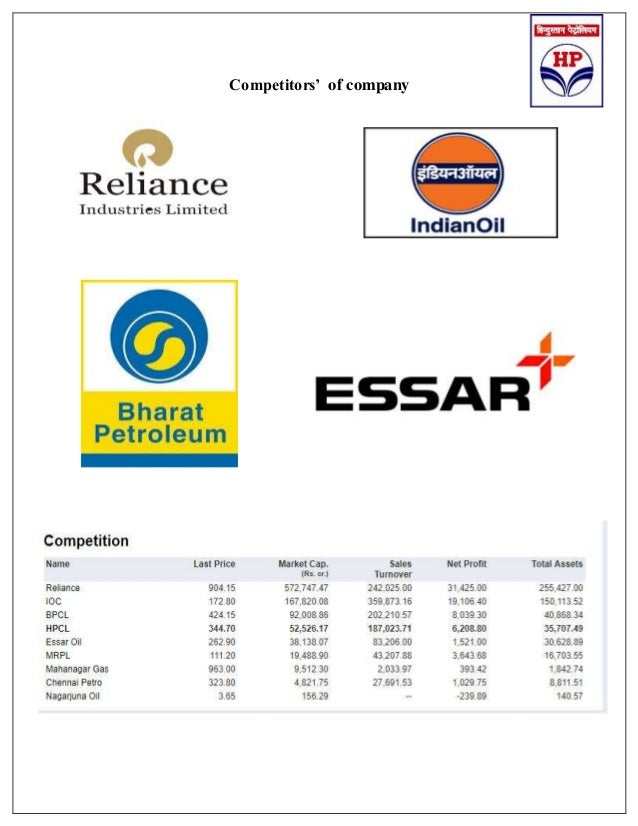 hindustan petroleum 2018 report