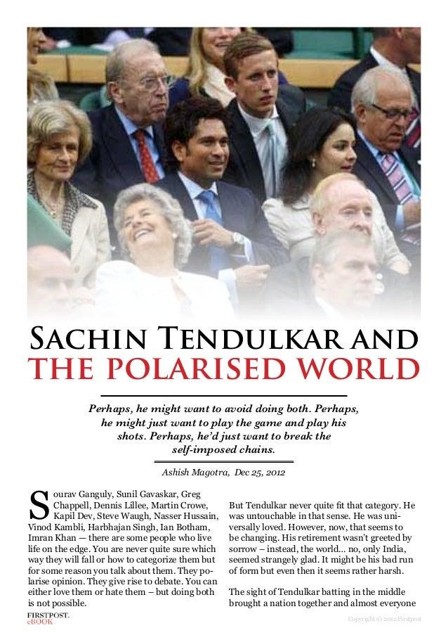 Books by Sachin Tendulkar (Author of Playing It My Way)
