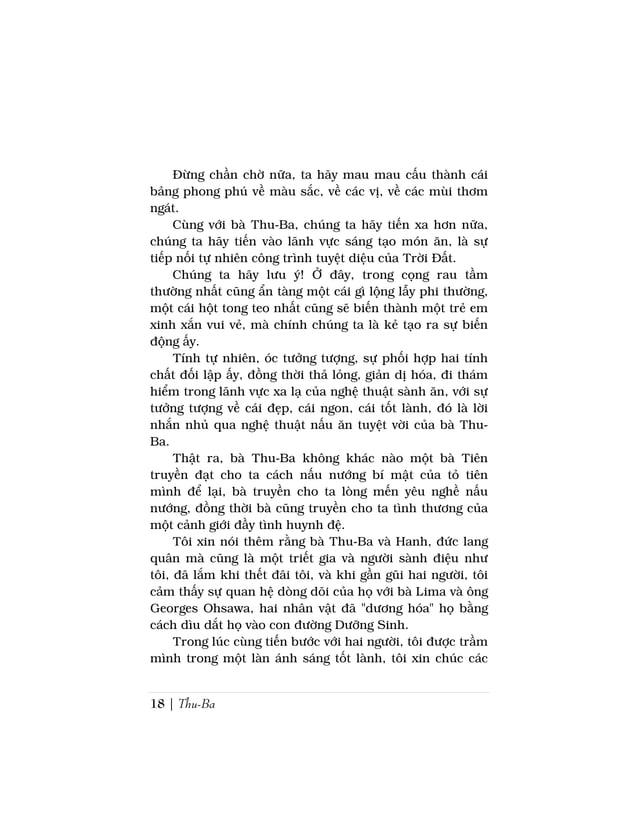 Sách Nấu Ăn Dưỡng Sinh Ohsawa | 19bạn cũng được diễm phúc thấm nhuần như tôi khi đọccuốn sách này, mà bà Thu-Ba đã viết ra...
