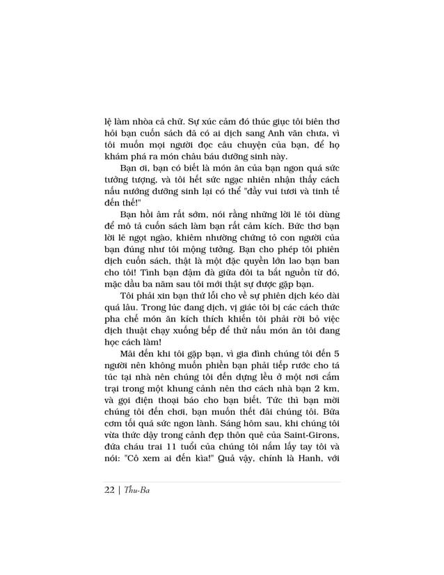 24 | Thu-BaSergy, ngày 8 tháng chín 1995Hanh thân mến,Cuối cùng đây là lời tựa cuốn sách dưới hình thứcmột bức thơ gởi cho...