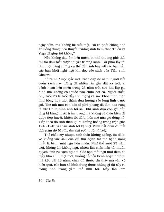 Sách Nấu Ăn Dưỡng Sinh Ohsawa | 33tinh thần sảng khoái lòng đầy từ bi bác ái, đổi thù rabạn, đó có phải là Thiên Ðàng mà t...