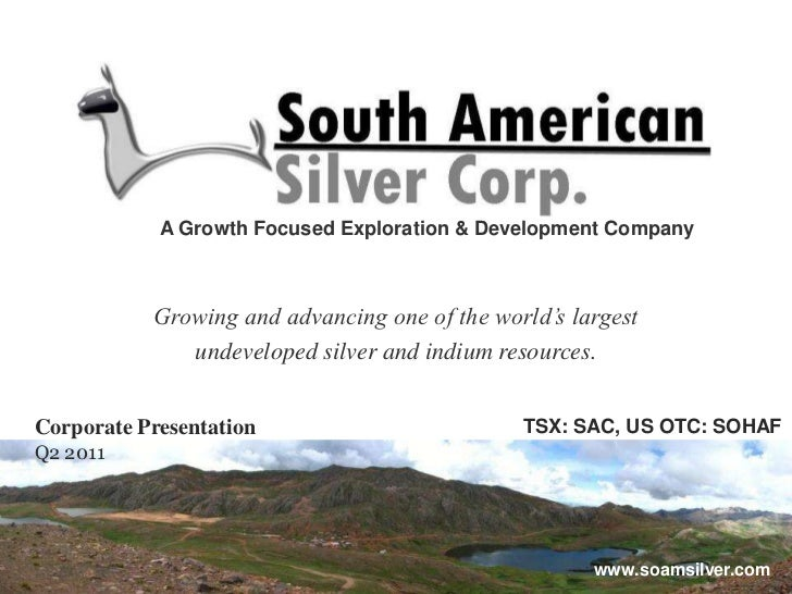 A Growth Focused Exploration & Development Company<br />Growing and advancing one of the world's largest <br />undeveloped...