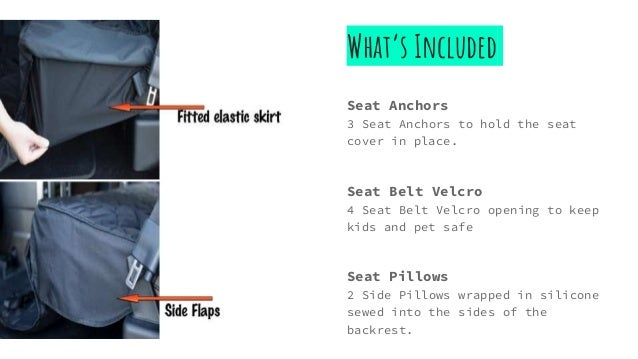6 Whats Included Seat