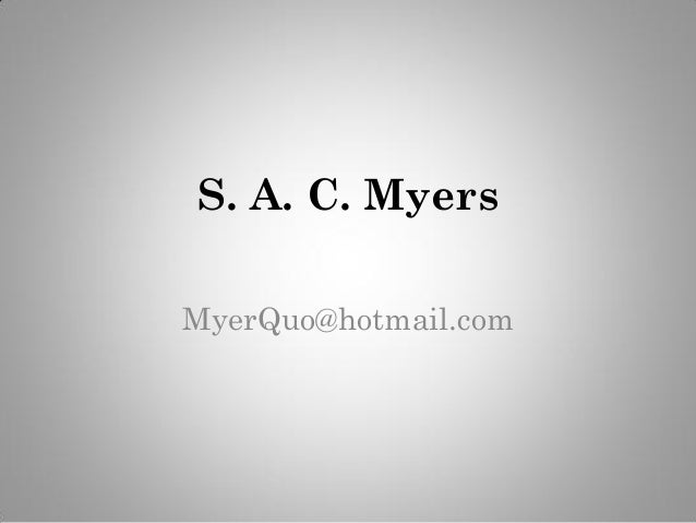 Sacmyers Virtual Resume