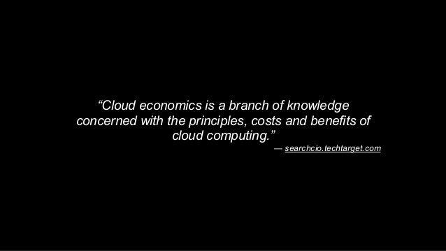 O'Reilly Software Architecture Conf: Cloud Economics Slide 2