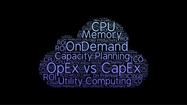 O'Reilly Software Architecture Conf: Cloud Economics Slide 3