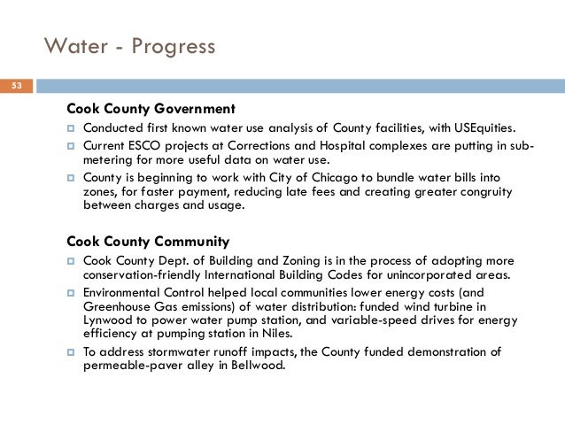 Unincorporated Cook County Building Codes