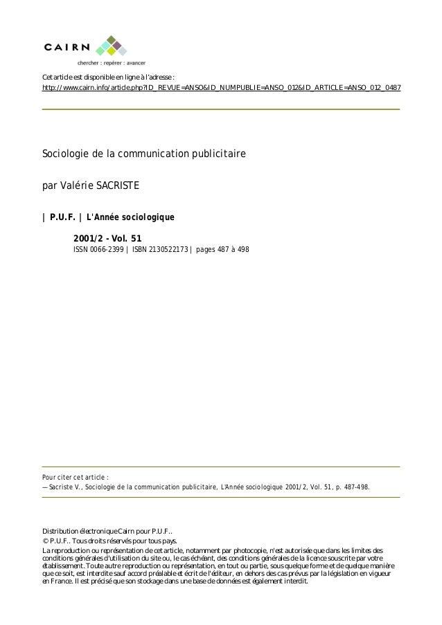Cet article est disponible en ligne à l'adresse :http://www.cairn.info/article.php?ID_REVUE=ANSO&ID_NUMPUBLIE=ANSO_012&ID_...