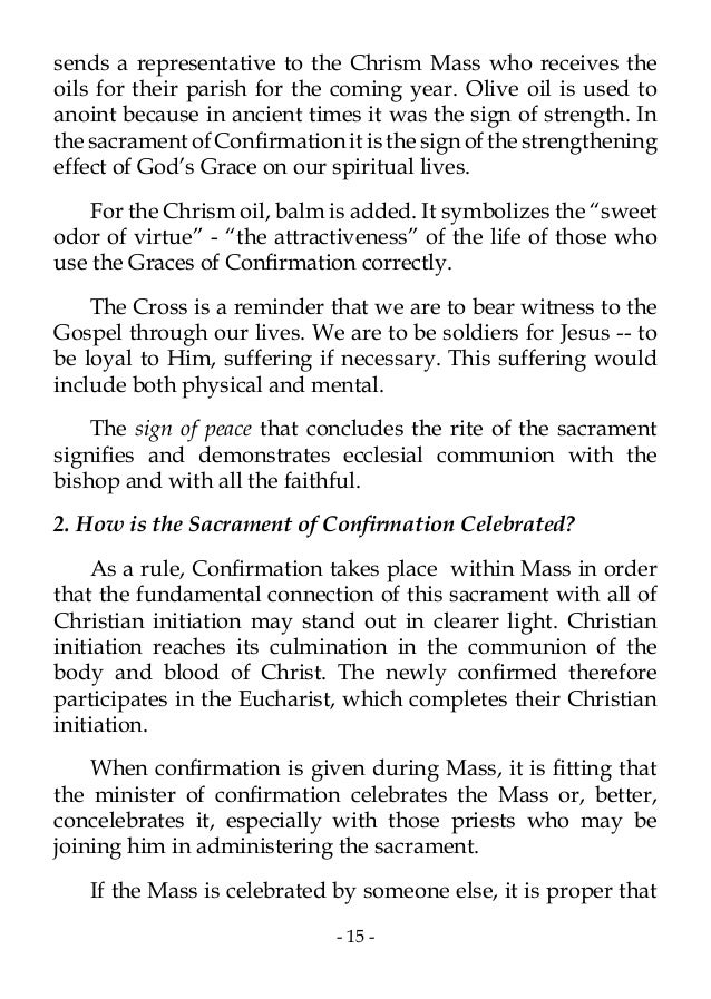 letter to bishop for confirmation