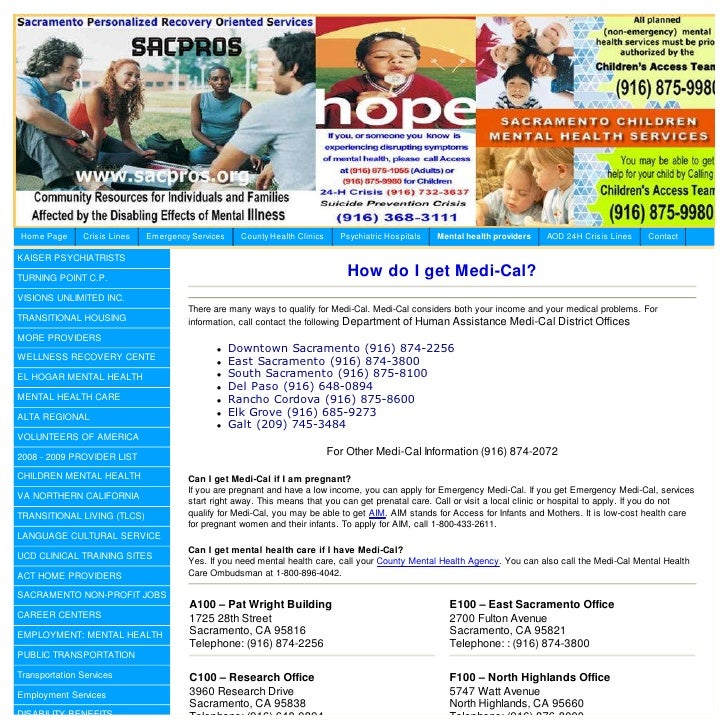 Sacramento County Department Of Human Assistance Sites
