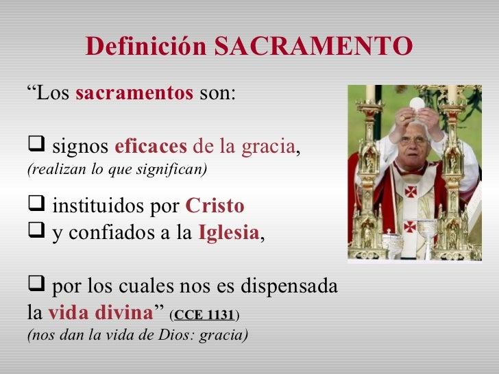 Matrimonio Catolico Definicion : Sacramentos para clase