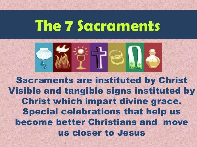 Sacraments Faith Formation