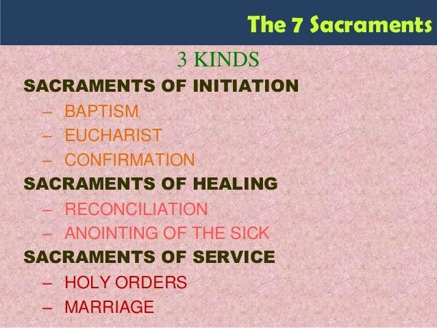 Sacraments Faith Formation