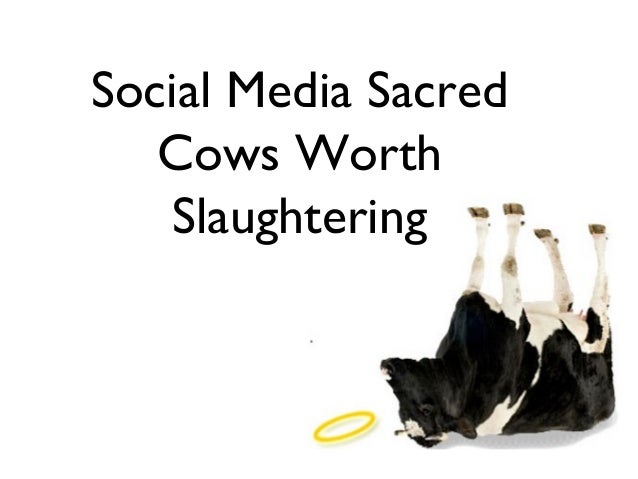 Social Media Sacred   Cows Worth   Slaughtering