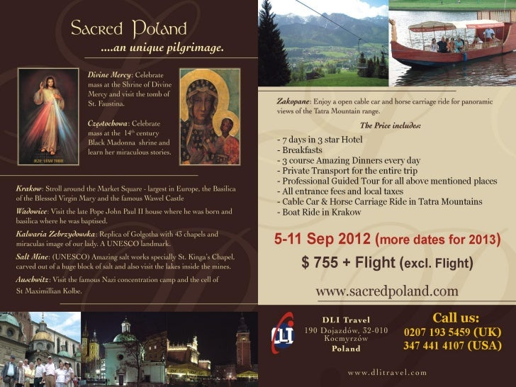 Sacred Poland 7 Days Spiritual Pilgrimage and Holiday of a Lifetime