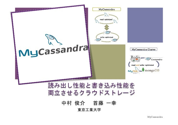 +    MyCassandra