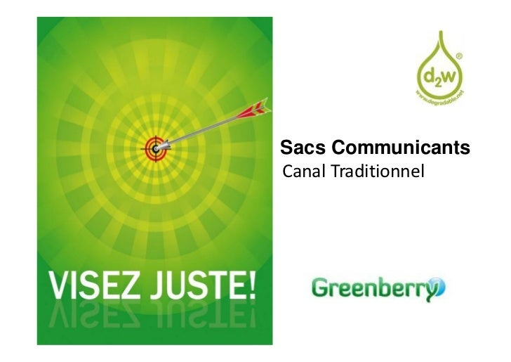 Sacs CommunicantsCanal Traditionnel