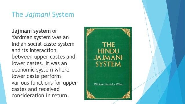 Jajmani system