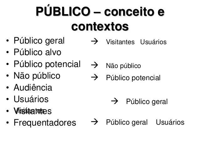 Estudo(s) de Público: conceitos e aplicações Slide 3