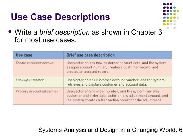 Use Case Template and an Example