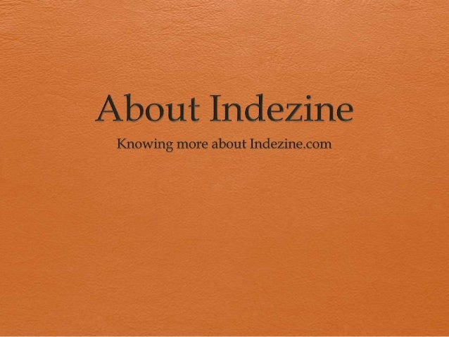 About Indezine.com  Discusses and debates PowerPoint and presenting stuff  Sample presentations and templates  Blog and...