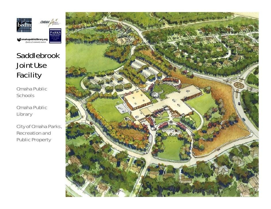 SaddlebrookJoint UseFacilityOmaha PublicSchoolsOmaha PublicLibraryCity of Omaha Parks,Recreation andPublic Property