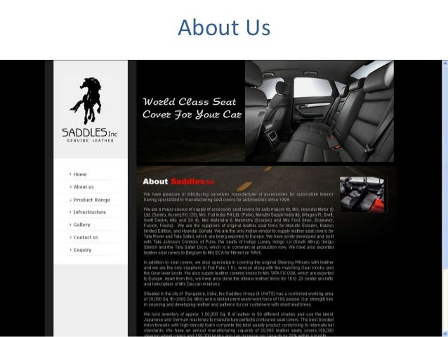 Car Seat Manufacturers In Bangalore