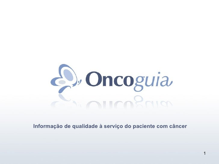 Informação de qualidade à serviço do paciente com câncer