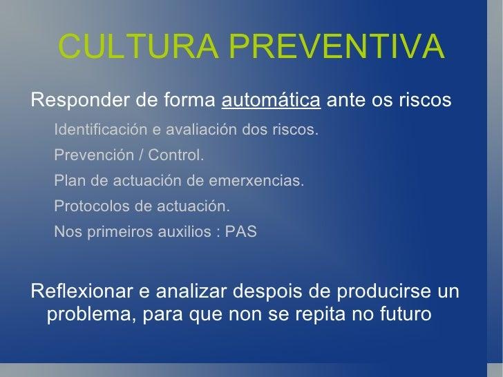 Saúde Laboral e Condicións de Traballo Slide 3