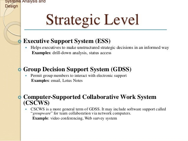 System Analysis Report Template. system analysis and design ...