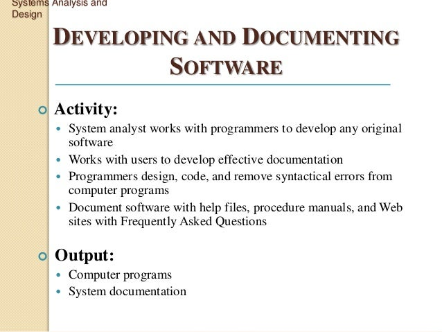 system analysis 3 essay Systems analysis and design case study chapter 4 tools used in system analysis module 3: system analysis and design essay  it 313- systems.