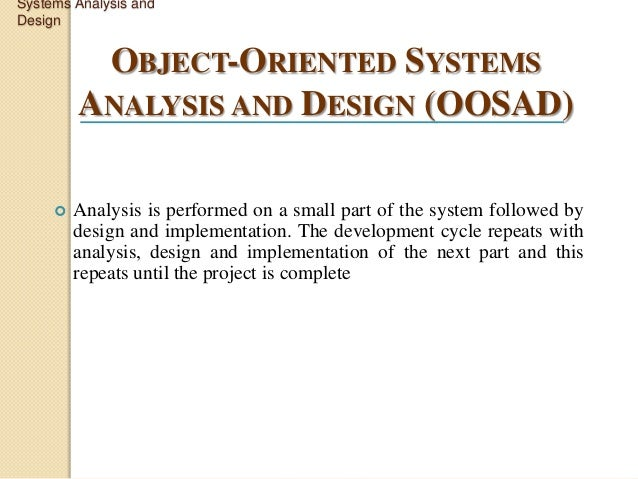 system analysis and design essay questions System analysis and design (sad) is an exciting, active field in which analysts continually learn new techniques and the deliverables from this phase is the project plan the analysis phase answers the questions of who will use the system, what the system will do, and where and when it will be used.