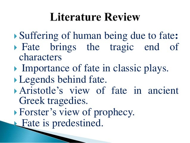 role of fate Question: what does the bible say about fate / destiny answer: this is a very complex issue, and we will start with what the bible does not teachfate is usually thought of as a predetermined course of events beyond human control.