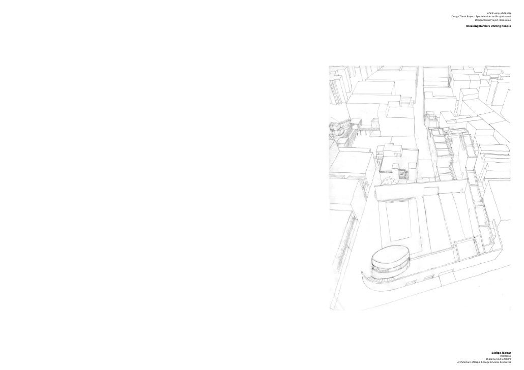 ADPP24N & ADPP25NDesign Thesis Project: Specialisation and Proposition &                      Design Thesis Project: Resol...
