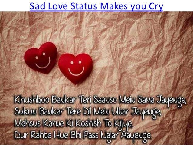 Sad Love Status In Hindi For Boyfriend