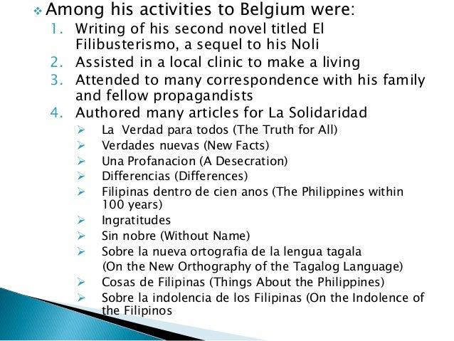 sobre la indolencia de los filipinos Pp 303-308 2 jose rizal, sobre la indolencia de los filipinos, escritos  comicion nacional del centenario de jose  filipinos in america.